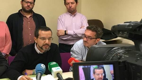 El diputado de Unidos Podemos, Sergio Pascual
