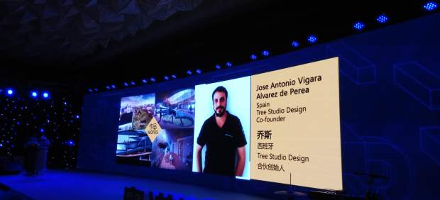 China premio joven arquitecto UMA univesidad diseño málaga