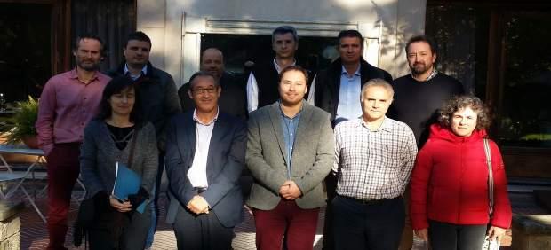 Promotores de proyectos innovadores de carne y leche de pastos de Cantabria