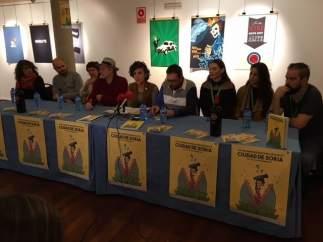 Participantes en el Certamen de Cortos de Soria.