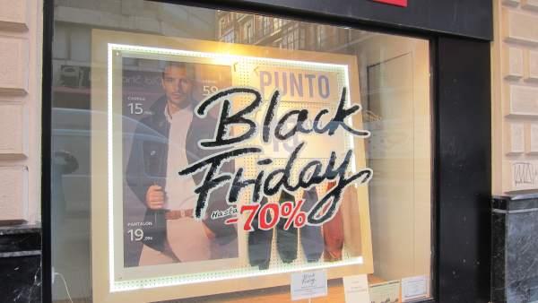 Black Friday, comercio en Bilbao