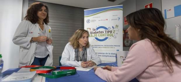 Acción informativa en el Hospital de la Princesa de Madrid