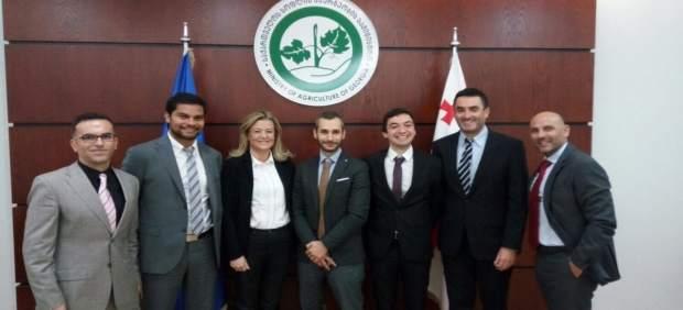 Reunión de Citoliva con responsables públicos de Georgia