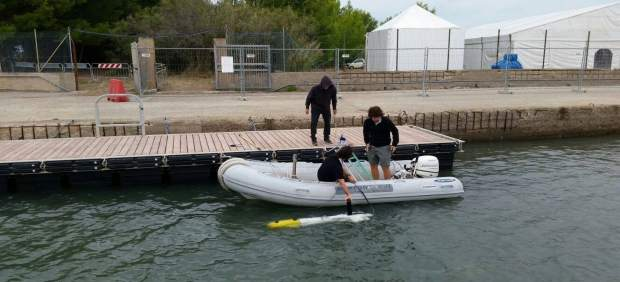 Robot subacuático de la UdG