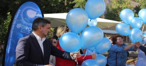 Ángel Escobar ha participado en el acto central del Día Mundial de la Diabetes.