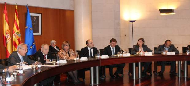 Pleno en la Diputación de Huesca (DPH)