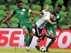 Agüero ante Nigeria