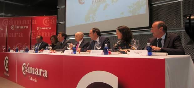 Jornada de la Cámara de Palencia, con la presencia de Carlos Fernández Carriedo