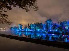 Durham se ilumina gracias a Lumiere, el festival de la luz