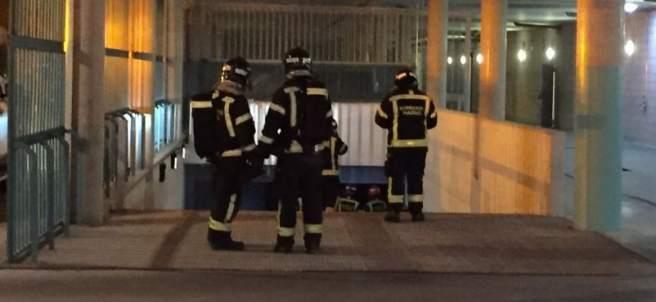 Incendio en un centro de Esclerosis Múltiple en Vicálvaro (Madrid)
