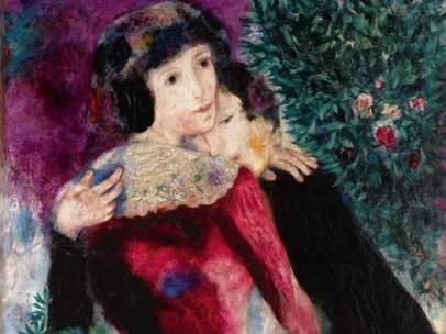 'Les amoureux', de Marc Chagall