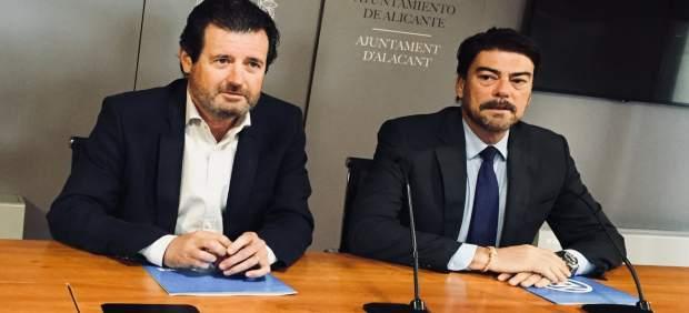 José Císcar y Luis Barcala
