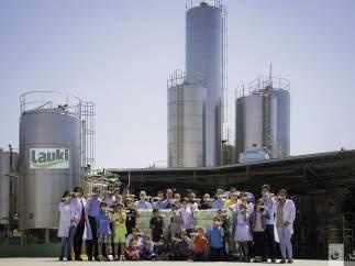 Fábrica de Lauki en Valladolid