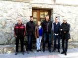 Miembros de la Asociación de empresarios del Alto Gallego