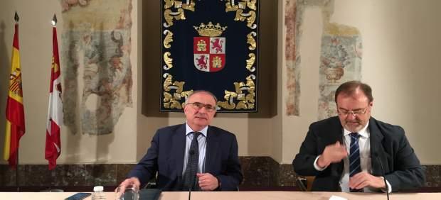 Valladolid.- Benigno Pendás y Fernando Rey.