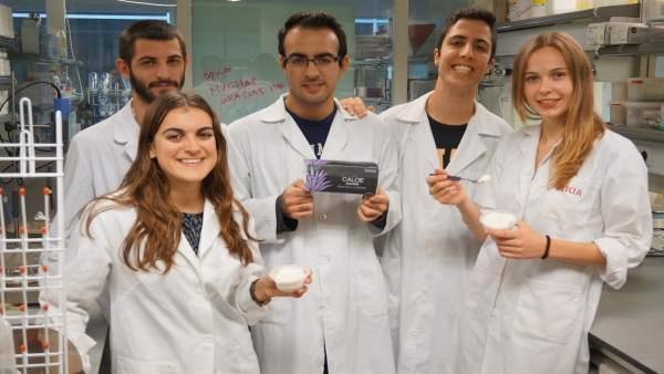 Una mousse d'àloe i flors ideada per estudiants de la UPV, premiada com a producte més innovador