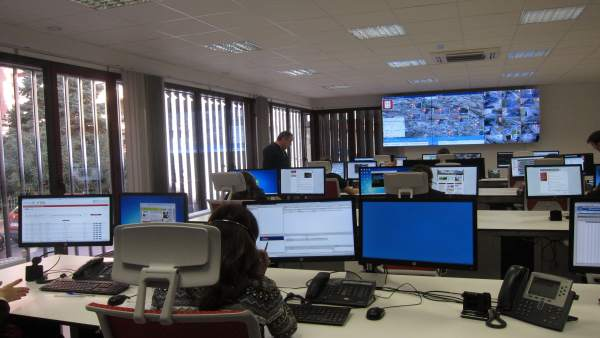Imagen de la sala de operaciones de la Smart Logroño