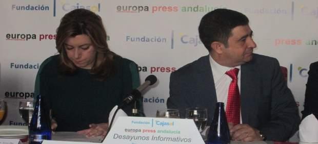 Susana Díaz y Francisco Reyes