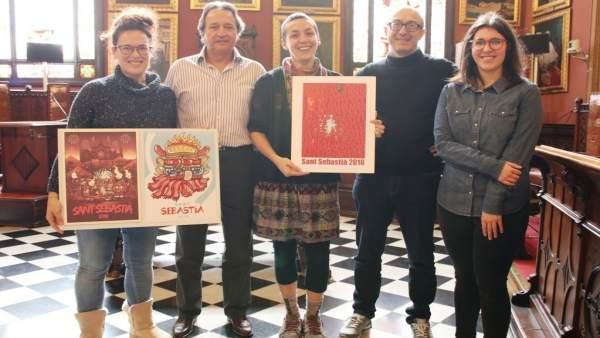 El cartel 'Es Pardaaal', imagen de Sant Sebastià 2018