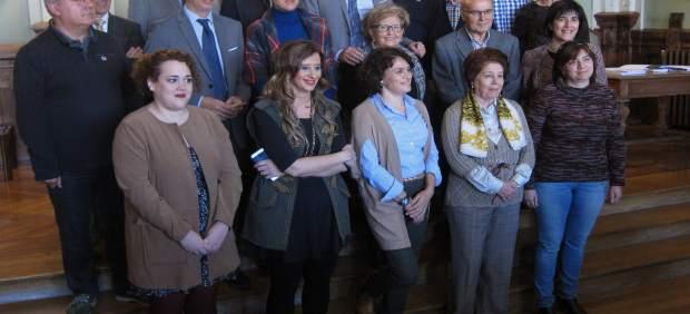 El alcalde de Valladolid junto a los miembros del Consejo Social de la Ciudad