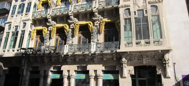 Fachada de la sede central de Bantierra