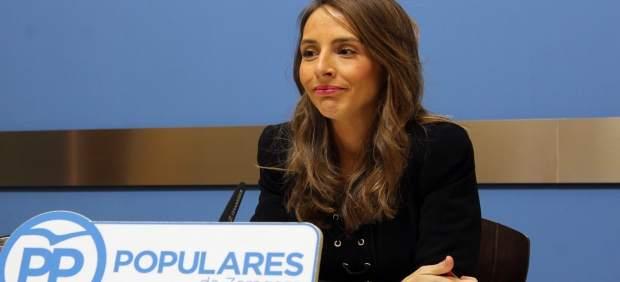 La concejal el PP, María Navarro