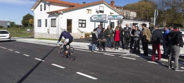 Inauguración de la mejora de la intersección en Puente Arce