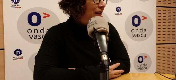 Loli García, secretaria general de CCOO en Euskadi