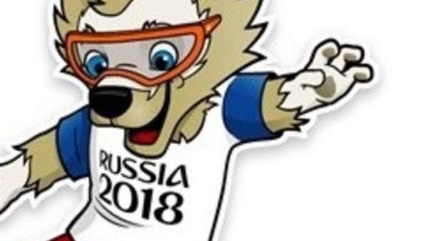 Zabivaka Es Un Lobo De Pelo Marron Que Usa Gafas Naranjas Y Sera La Mascota Del Mundial De  Vencio A Un Tigre Y A Un Gato Que Aparecieron Como Otras