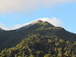 Volcán Barú, en Panamá