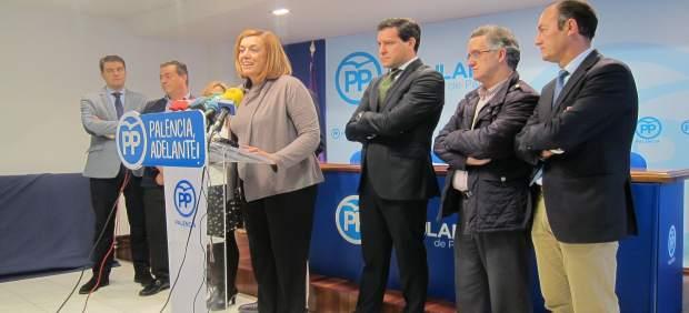 Rueda de prensa sobre centrales térmicas en Palencia