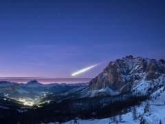 La historia detrás de la espectacular foto de la gran bola fuego de los Alpes