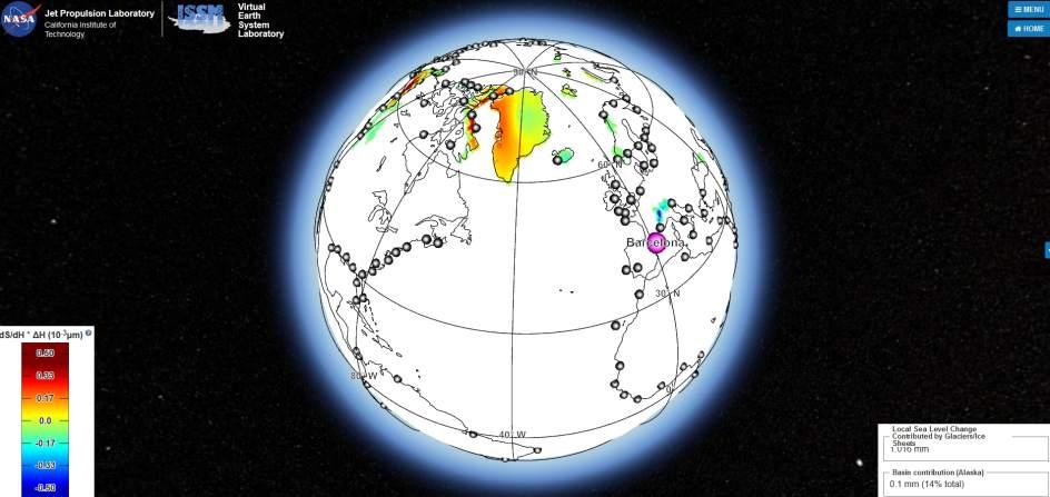 La herramienta de la NASA que predice qué ciudades del mundo se inundarán por el deshielo