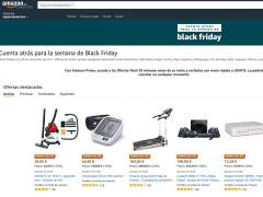 Amazon adelanta el Black Friday con una página especial de ofertas