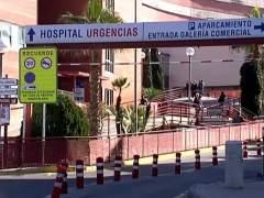 Acceso a urgencias de un hospital