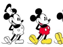 Evolución de Mickey Mouse