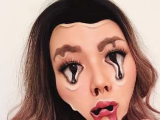 Se inspira en el arte de Dalí