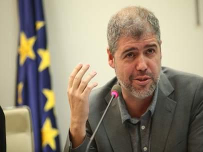 El secretario general de CC.OO., Unai Sordo, participa en una jornada
