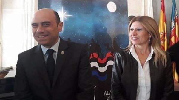 Gabriel Echávarri y Eva Montesinos