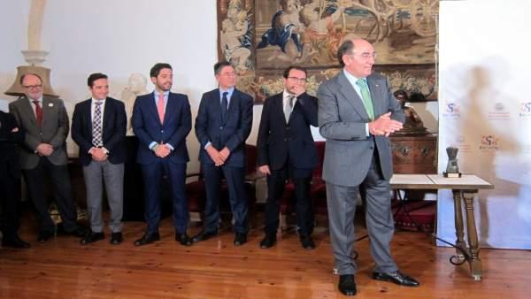 Ignacio Galán A Su Llegada A La Entrega De Premios Del Consejo De La USAL