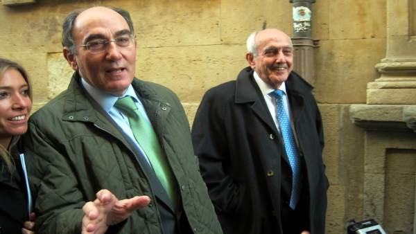 Salamanca.- Sánchez Galán y Pedro Díaz
