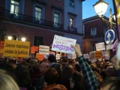 """Cientos protestan en Madrid contra los """"abusos patriarcales"""" en el juicio a 'La Manada'"""