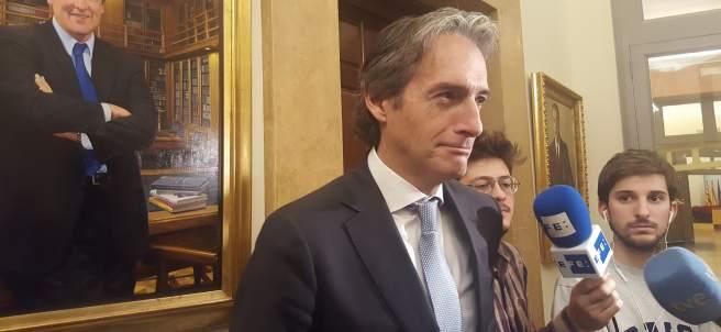 El ministro de Fomento, Íñigo de la Serna