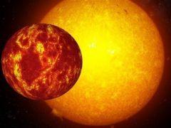 Descubren un planeta solar metálico e inusualmente denso