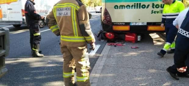 Accidente en la avenida Juan Pablo II