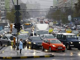 Bucarest, la peor ciudad europea para coger el coche: nueve días al año atrapados en atascos