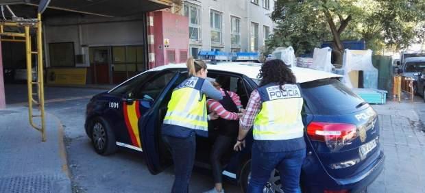 Arresto de la empleada del hogar