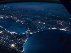 El sur de España, desde el espacio