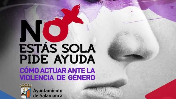 Salamanca.- Campaña del Ayuntamiento contra la violgencia de género