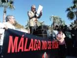 Busutil manifiesto contra hotel rascacielos puerto de málaga
